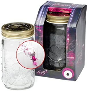Firefly in Plastic Jar Electronic Toys (Pink)