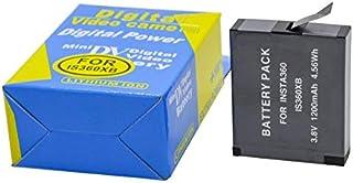 Silverdrew Batería Recargable de Iones de Litio para Insta360 One X 1200mAh 3.8V 4.56Wh Batería LiPo para Accesorios de cámara Insta360 One X