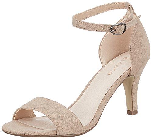 Bianco Low Basic sandały damskie z rzemykiem, beżowy - beżowy Nougat - 39 EU