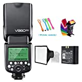 Godox V860II-S High-Speed Sync GN60 1/8000 2.4G TTL Li-ion Battery...