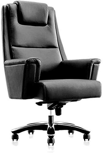 Sillas de escritorio de oficina Ajustable giratorio cómodo de los asientos, de cuero PU Silla de oficina, cómodo y silla ayuda de la cintura saludable, silla de la computadora Silla de oficina girator