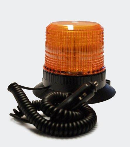Magnetische Strobo-Partyleuchte Stroboskop Strobo Blitzer orange