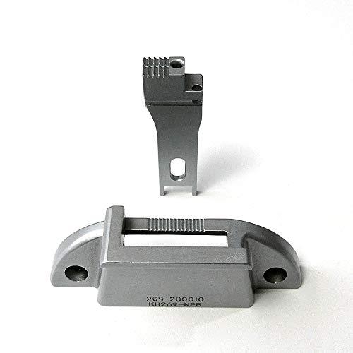 Placa de aguja de encuadernación+alimentador para DURKOPP Adler 269 sola máquina de coser de aguja