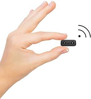 【新バージョン】超小型WiFi隠しカメラ, 超高画質ネットワークミニカメラ リアルタイム遠隔監視 WiFi対応防犯監視カメラ 動体検知暗視機能 iOS/Android/iPad/Win遠隔監視・操作可能 長時間録画録音 日本語取扱説明書付
