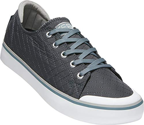 KEEN - Women's Elsa III Canvas Sneaker for Casual Everyday covid 19 (Days Iii Canvas coronavirus)