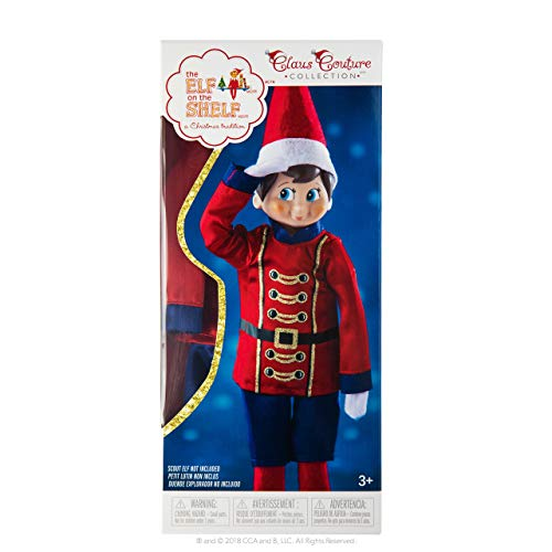 The Elf on the Shelf: A Christmas Tradition Girl Dark Tone - Includes Doll, Book and box.