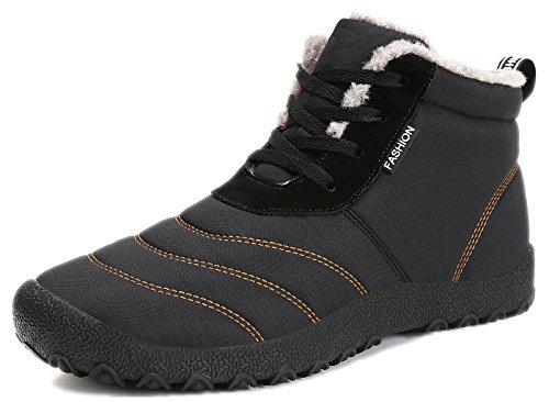 Eagsouni Herren Winterschuhe Winterstiefel Damen Schneestiefel Warm Gefüttert Winter Kurz Stiefel Outdoor Boots Freizeit Schuhe