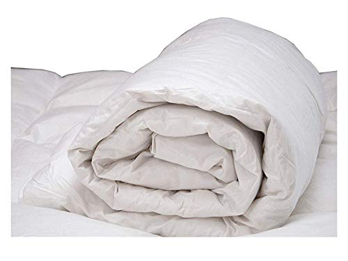Lancashire Bedding Premium 10.5 tog Duck Feather & Down Thick and Cosy Duvet Quilt EMPEROR SIZE - 85% Feather 15% Down