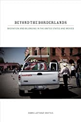 """This image is of a book cover, """"Beyond the Borderlands,"""" by Debra Lattanzi Shutika."""