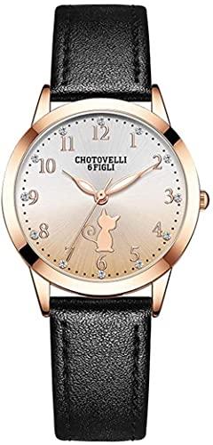 Reloj de pulsera, Relojes de puntero de dibujos animados lindos para las niñas de secundaria en una variedad de colores, relojes electrónicos a prueba de agua multifunción para niños, relojes de forma