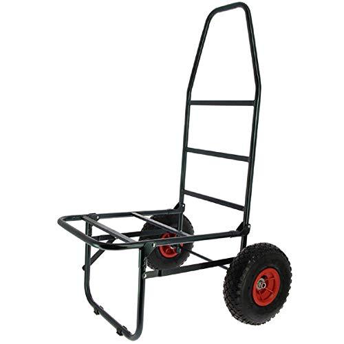 g8ds® Klassischer Trolley - Zwei Reifen Twin Wheel Leichter Transport Tackle klein leicht Kompakt