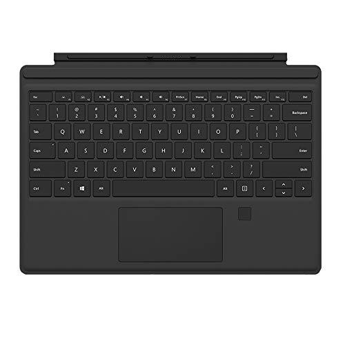 Microsoft Surface Pro Type Cover mit Fingerprint ID QWERTZ Keyboard schwarz