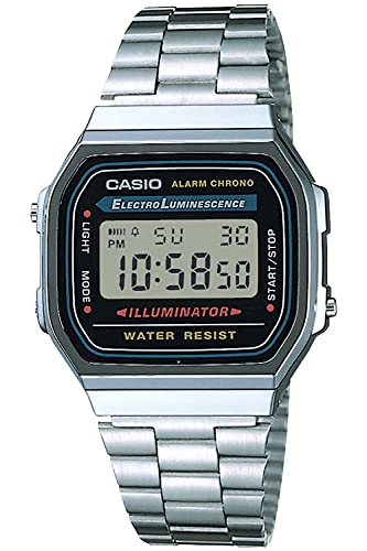 [カシオ] 腕時計 カシオ コレクション A168WA-1A2WJR メンズ シルバー