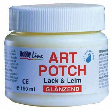 Art Potch Serviettenlack GLÄNZEND 150 ml PREISHIT [Spielzeug]