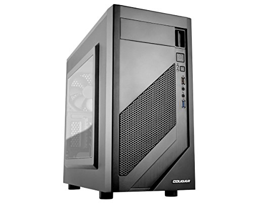 Cougar MG110-W Micro ATX Mid Tower Case with Acrylic Window