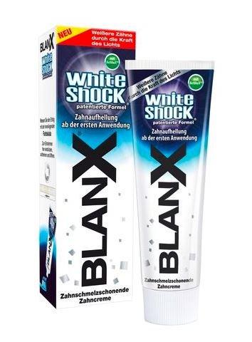 BlanX Zahncreme White Shock Zahnaufhellung 75ml