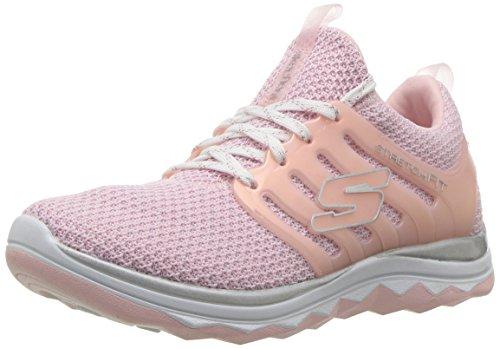 Skechers Mädchen Diamond Runner 81561L-LTPK Laufschuhe, Pink (Light Pink), 32 EU