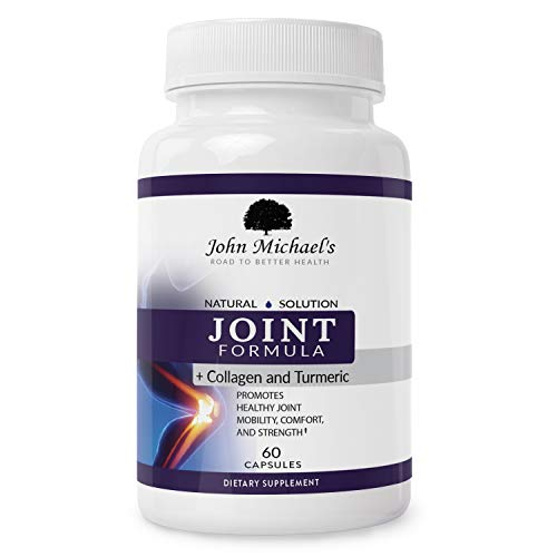 Best Complete Joint Care Support, Turmeric Curcumin & Collagen Herbal Supplement w/Boswellia MSM & Ginger. Natural Anti-inflammatory, Arthritis Pain Relief, Antioxidant Joint Formula