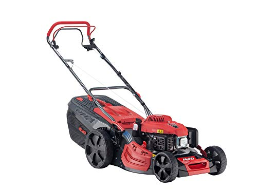 AL-KO Benzin-Rasenmäher Premium 521 SP-A (51 cm Schnittbreite, 2.6 kW Motorleistung, robustes Stahlblechgehäuse, Hinterradantrieb, Mulchfunktion, Seitenauswurf, für Rasenflächen bis 1800 m²)