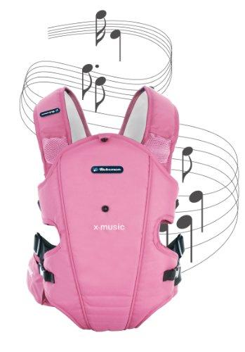 Bebemon X-Music–Mochila portabebés (Pink Candy)