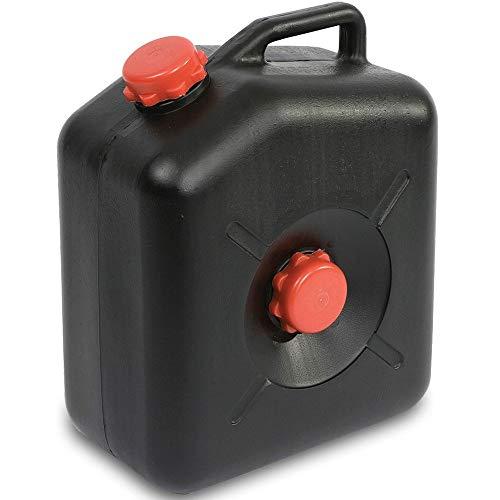 Camping Abwasser Kanister 23 Liter groß Abwassertank für Wohnwagen Schmutzwassertank, Boot, Wohnmobil, Reisemobil Abwassercontainer Abwasserbehälter tragbar wassertank caravan flach womo Fäkalientank