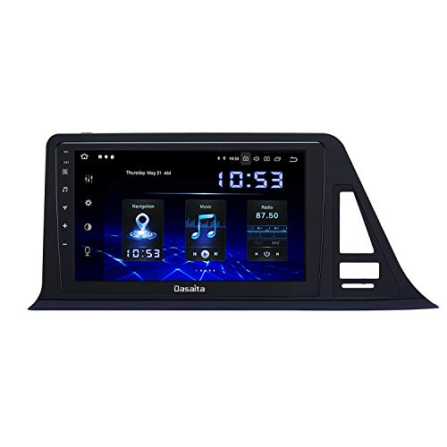 """Dasaita 9"""" Android 10.0 Stereo Auto Bluetooth per Toyota CHR C-HR 2016 2017 2018 Autoradio Touch Screen 1280x720 Supporto Carplay Retromarcia Controllo del Volant"""