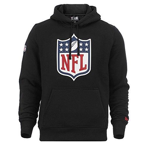 New Era Hoody - NFL Liga Logo schwarz - L