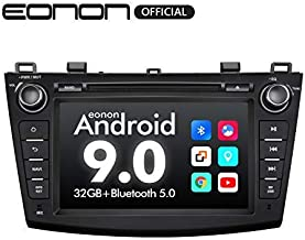 Car Stereo,Double Din Car Stereo, Eonon 8 Inch Car Radio with Bluetooth Support Android Auto/Apple Carplay/Bluetooth 5.0/Fast Boot/DVR/Backup Camera/OBDII Fender System-GA9363