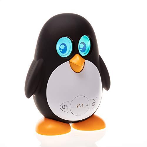 Juguetrónica- Pingüino Marbo, Robot Mascota para Niños, Color negro (JUG0189M) , color/modelo surtido