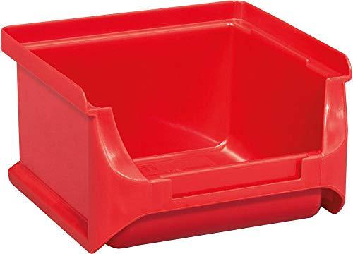 Allit 456201 Sichtbox Größe 1 100 x 102 x 60 mm in rot