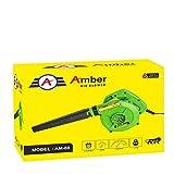 Amber 650W/11000RPM High Pressure Plastic Air Blower/Dust PC Cleaner, AM-01