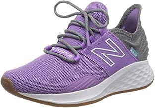 New Balance Women's Fresh Foam Roav V1 Sneaker, Neo Violet/Light Aluminum, 5.5