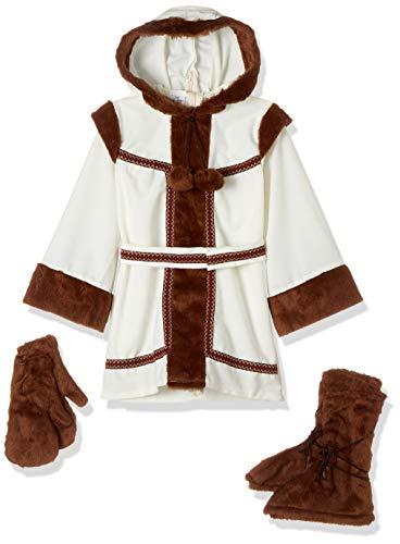 disfraz prime Disfraz Esquimal niña, Multicolor, estandar (limitsport 8421796429165)