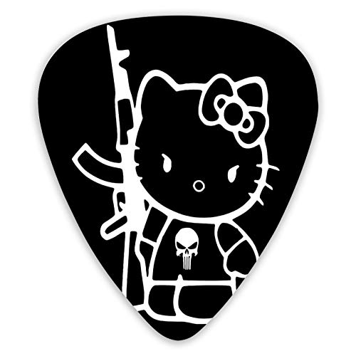 Voroy Hello-Kitty Guitar Picks(12 Pcs In A Set) With Box Guitar Pick (0.46mm,0.96mm,0.71mm) Thickness For Mandolin Gift For Girlfriend