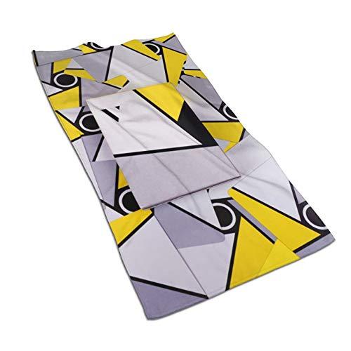 Golden Triangle Toallas de baño Toallas de baño de algodón súper suave de alta absorción de calidad para baños piscinas y cocinas de hotel (30,5 x 60,5 cm)