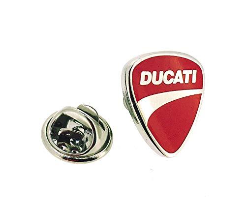 Gemelolandia Anstecknadel Ducati | Originelle Anstecker zum Verschenken | für Hemden, Kleidung oder Rucksack | lustige Details