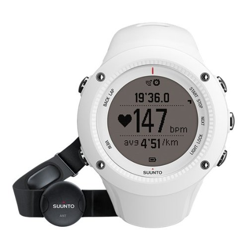 Suunto Ambit2 R White (HR) - Reloj con GPS integrado unisex, color...