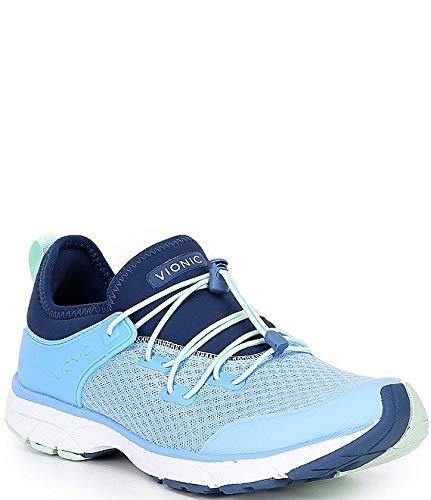 [バイオニック] シューズ 26.0 cm スニーカー London Bungee Lace Closure Sneakers Blue レディース [並行輸入品]