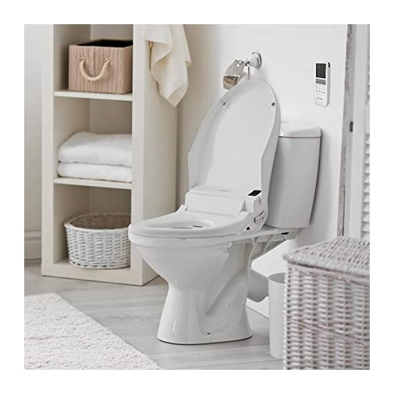 SmartBidet SB-3000 Electric Bidet Toilet Seat for Elongated Toilets with Wireless Remote Control with Screen, Unlimited… 3 All the Features You Imagine in One Model Posterior Wash is for His/Her Back. Feminine Wash is a gentler, wider wash for her front. Spiral Stream or Turbo Wash is the strongest, most concentrated wash for His/Her back. Having constipation problems? Use the Spiral Stream Wash which can help relieve constipation On Demand, Unlimited Warm Water Our Hybrid Heating System allows the water to be instantly and continuously warm at your desired temperature. No more cold water shooting up your butt in the mornings or winters! Enjoy this experience without havingn to worry about the water turning colder and colder.