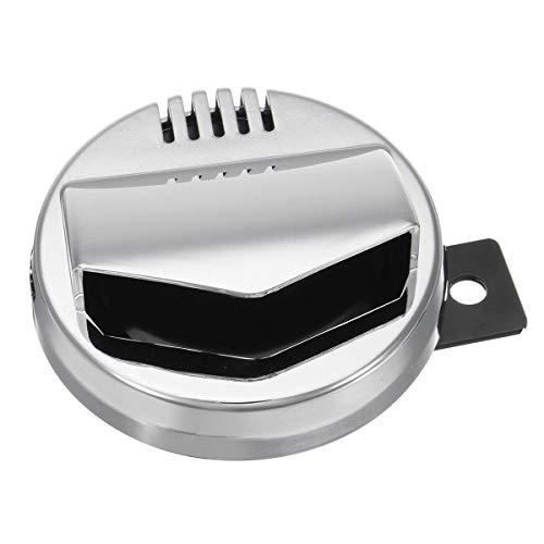 Generic Motorrad-Hupe, 12 V, 110 dB, 94 mm, super laut, Cafe Racer Retro Universal
