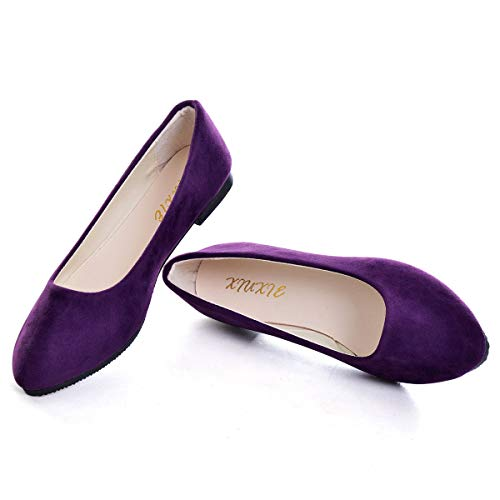 Top 10 best selling list for beautiful purple flat shoes