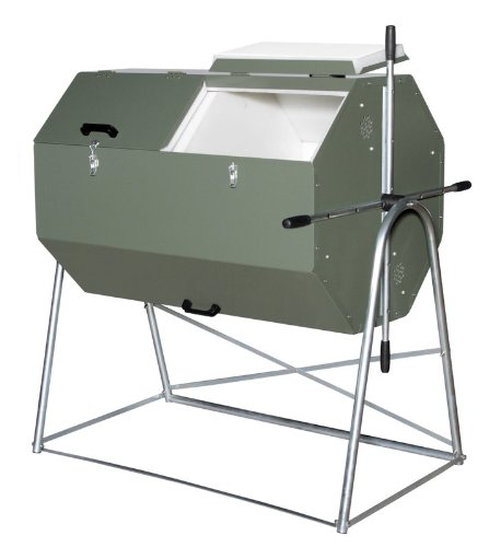 Jora JK 400 Compost Tumbler - Holds up to 106 Gallons, Made with Galvanized and Powder-Coated Steel for The Best composting Experience. Durable Insulated Dual Chamber composter