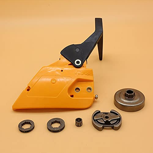Mango de freno Cubierta de embrague Repuestos de repuesto para tambor de embrague para Partner 350351 para McCulloch MAC 335435440 Repuestos de motosierra 530014949