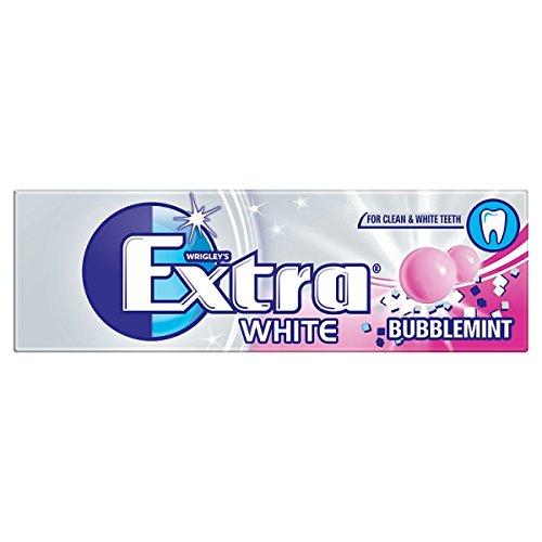 Wrigley's Extra White BubbleMint 10 piezas 14 g