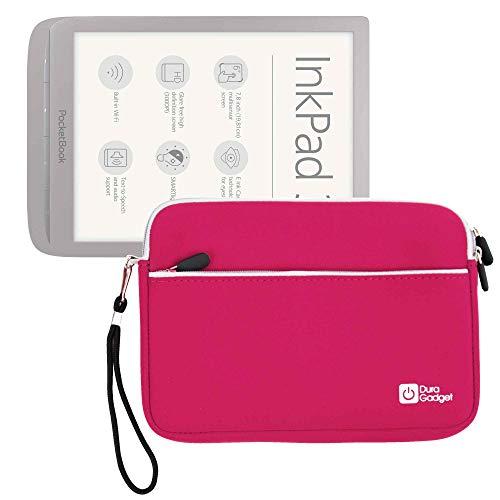 Duragadget Schutzhülle für Tea InkPad 3 (Pocketbook), Kobo Libra H2O (H20), Rosa