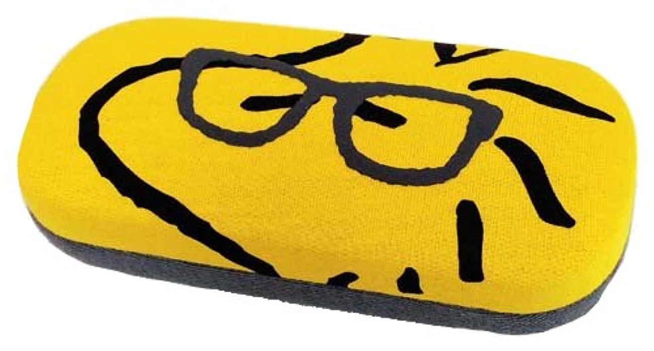 回転する腹部なすピーナッツ スヌーピー メガネケース ウッドストック 眼鏡