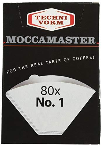 Technivorm Moccamaster 85090 Cup-One Papierfilter Größe weiß