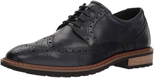 Ecco Vitrus I, Zapatos de Cordones Oxford Hombre, Azul (Denim Blue), 42 EU