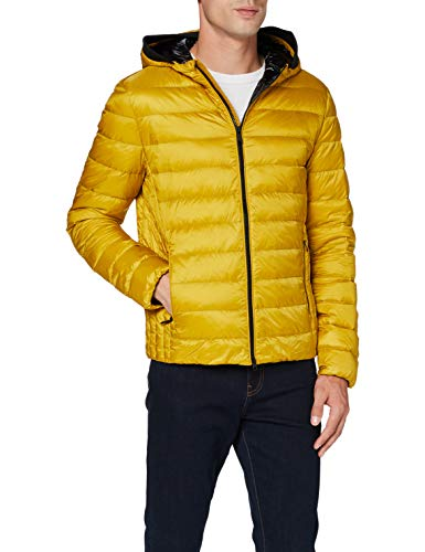 Geox M Dereck Hood JKT (M Chaqueta Acolchada, Oro Amarillo, 50 para Hombre