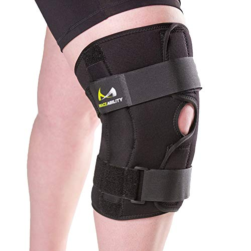 Knee Brace for Obese People with Wide Thighs and Large Legs by Brace Ability review